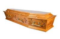 Jennings Funerals Dublin | Cathedral Hampton Coffin