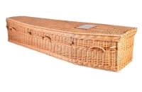 Jennings Funerals Dublin | Woven Wicker Coffin
